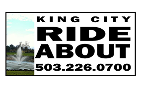 King City RideAbout logo